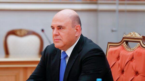 Председатель правительства РФ Михаил Мишустин принимает участие в заседании Совета глав правительств СНГ
