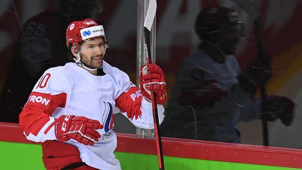 Игрок сборной России Сергей Толчинский