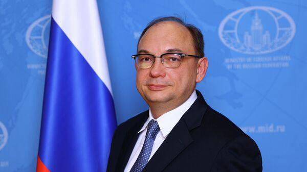Директор департамента экономического сотрудничества МИД России Дмитрий Биричевский
