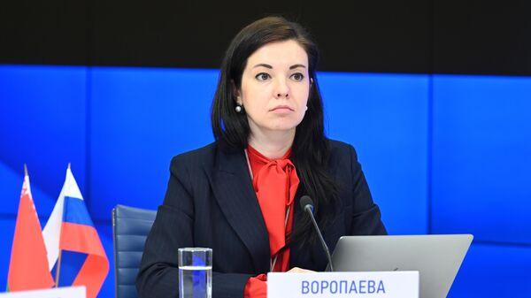 Председатель Молодежного парламента Государственной Думы РФ Мария Воропаева