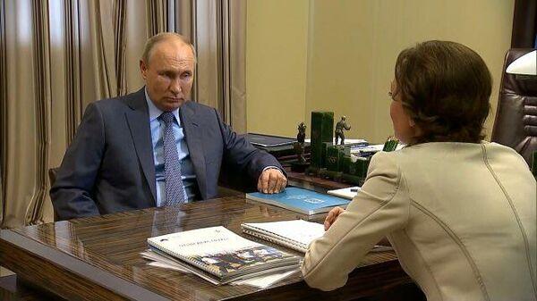 Путин: мужчина стремится сам преодолеть все трудности