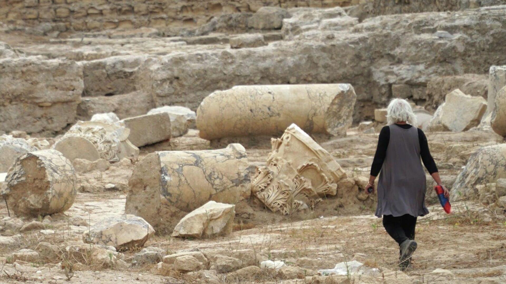 Базилика времен римского правления обнаружена в ходе работ по развитию национального парка Тель-Ашкелон в Израиле - РИА Новости, 1920, 31.05.2021