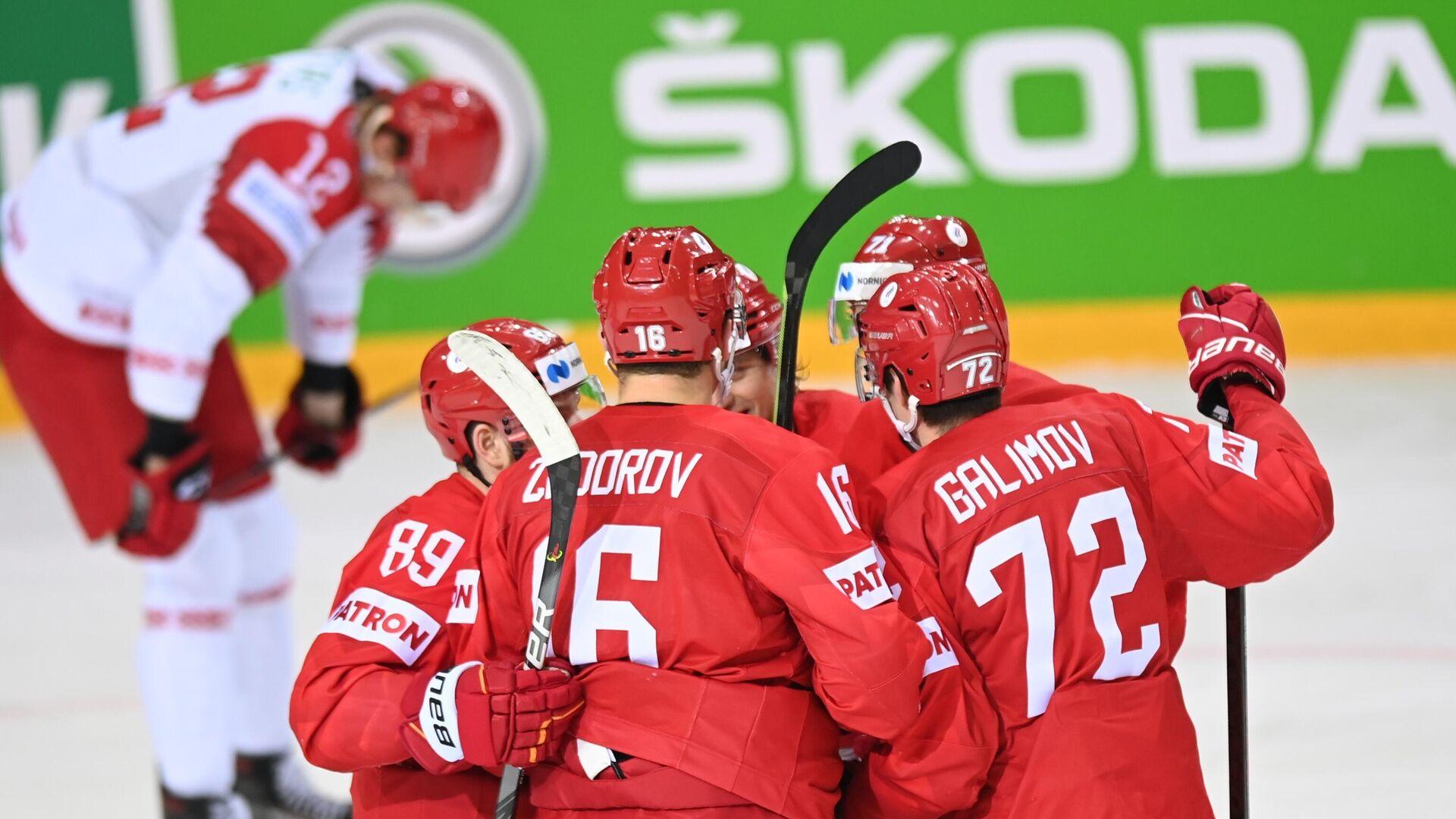 Хоккеисты сборной России - РИА Новости, 1920, 01.06.2021