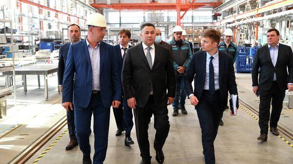 Руденя: в Твери создают первый в регионе частный промышленный парк