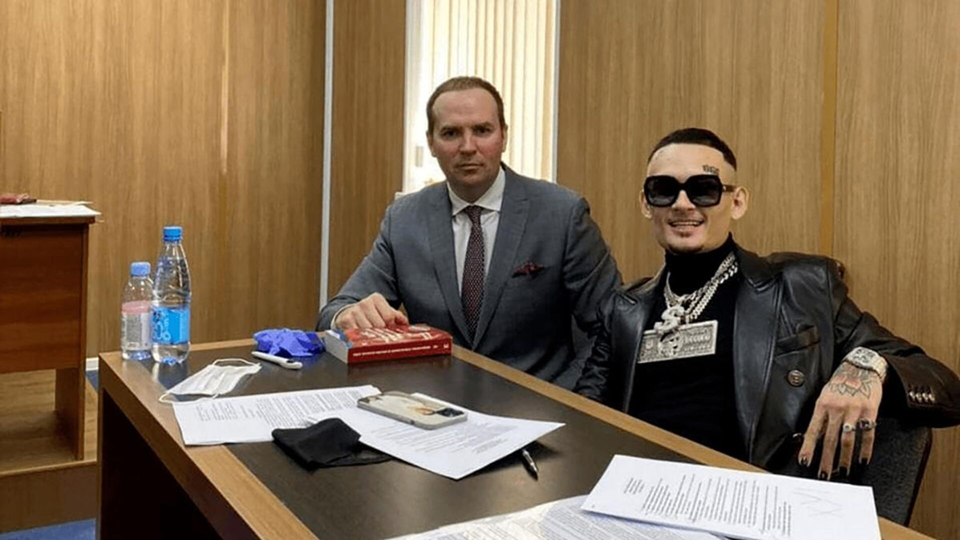 Моргенштерна оштрафовали на сто тысяч рублей