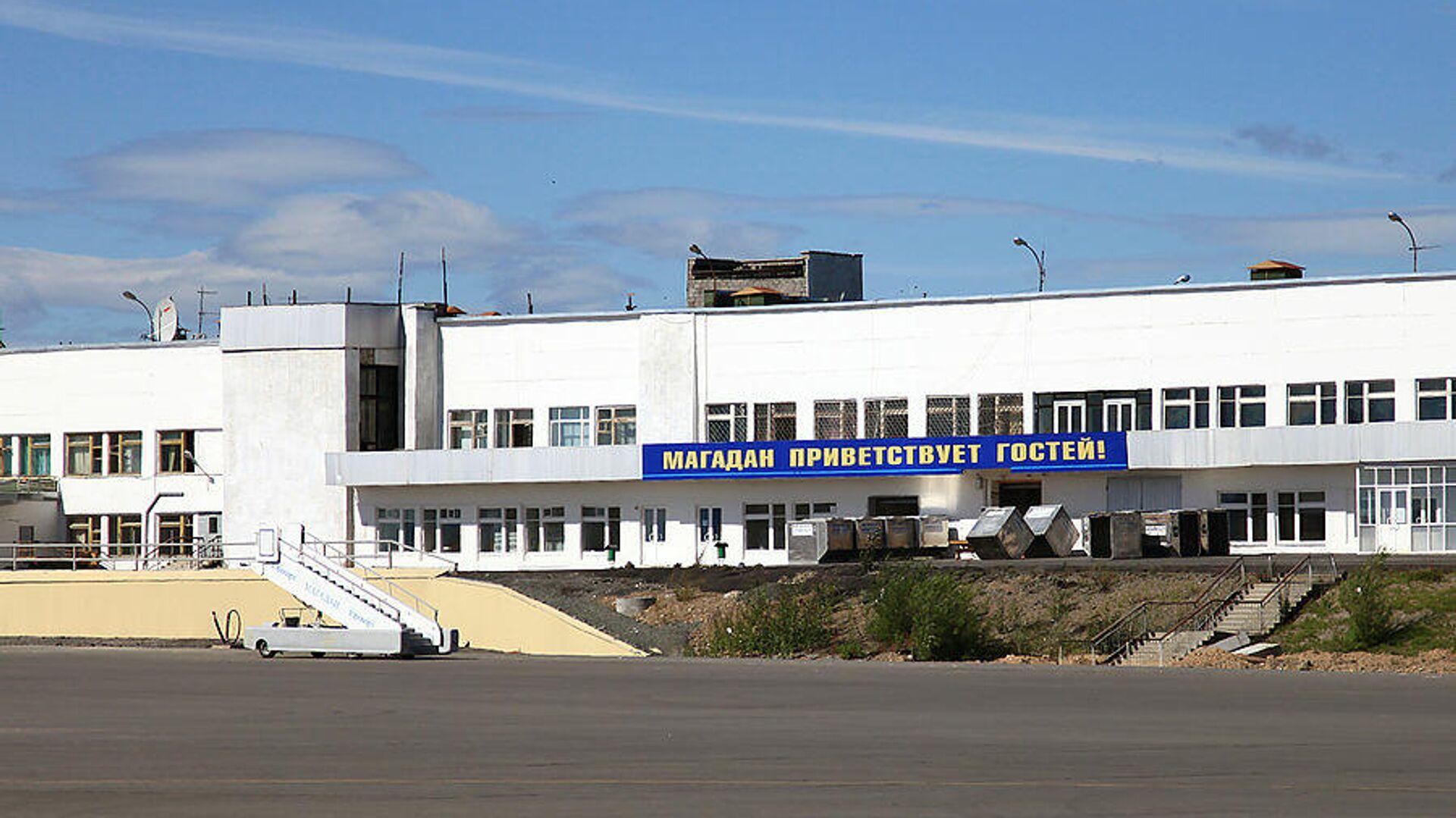 Международный аэропорт Магадан Сокол имени В. С. Высоцкого - РИА Новости, 1920, 14.07.2021