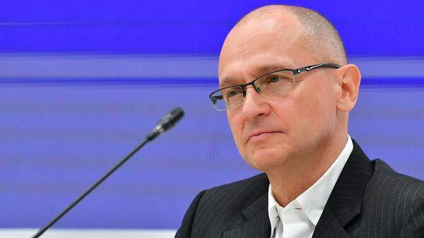 Первый заместитель руководителя администрации президента РФ Сергей Кириенко на ПМЭФ - 2021