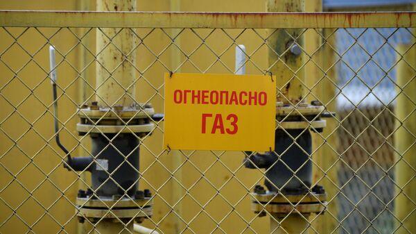 Газораспределительное устройство в секторе малоэтажной жилой застройки на окраине Новосибирска