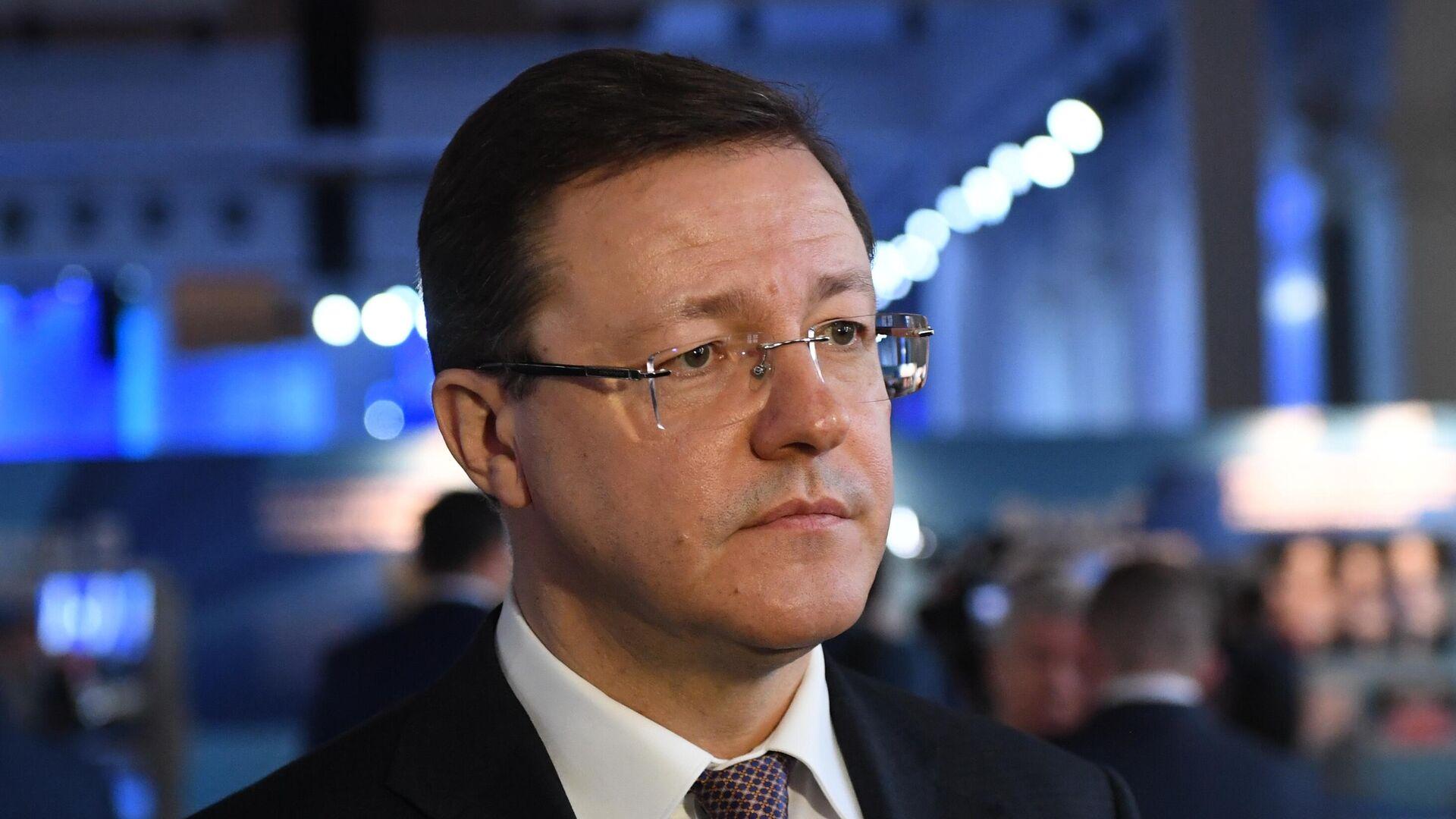 Глава Самарской области Азаров дал старт строительству комплекса ветроэлектростанций