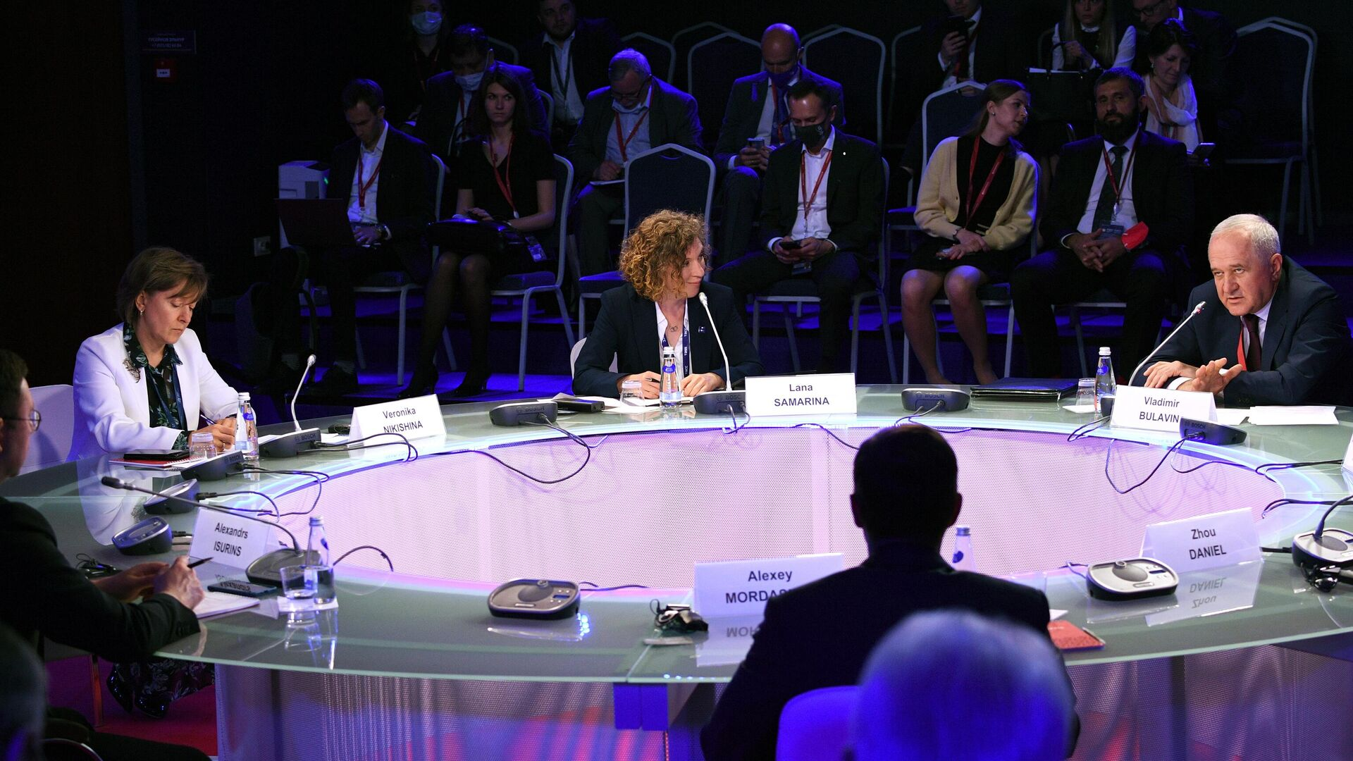 Панельная дискуссия Трансформация мировой торговли. Эффективность государственного регулирования в рамках ПМЭФ-2021 - РИА Новости, 1920, 03.06.2021