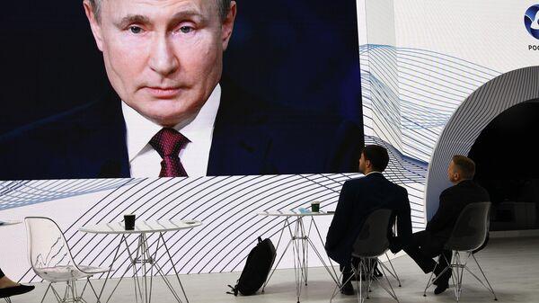 Президент РФ Владимир Путин принял участие в мероприятиях Петербургского международного экономического форума