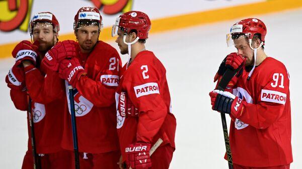 Хоккей. Чемпионат мира. Матч Россия - Канада