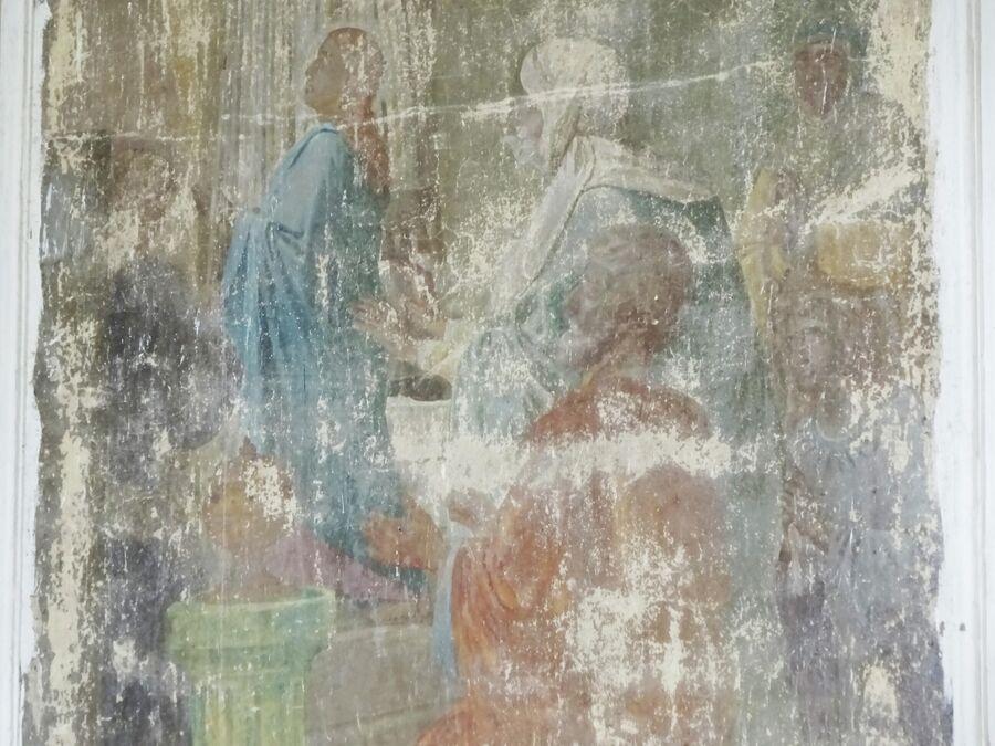 Церковь Рождества Богородицы, росписи