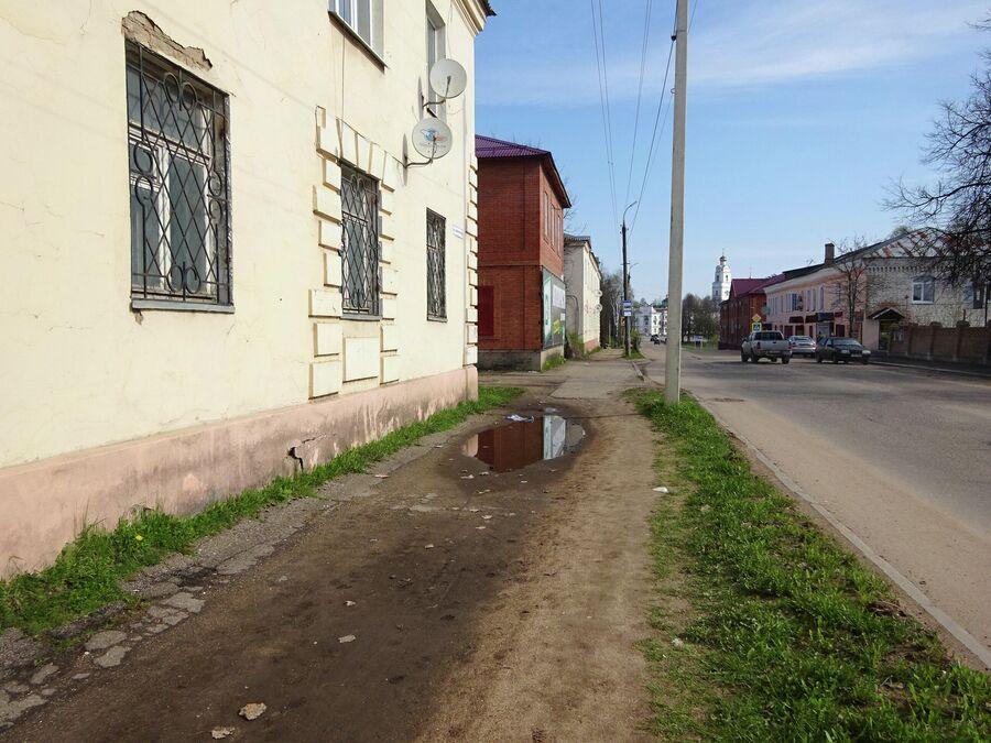 Тротуары Вязьмы
