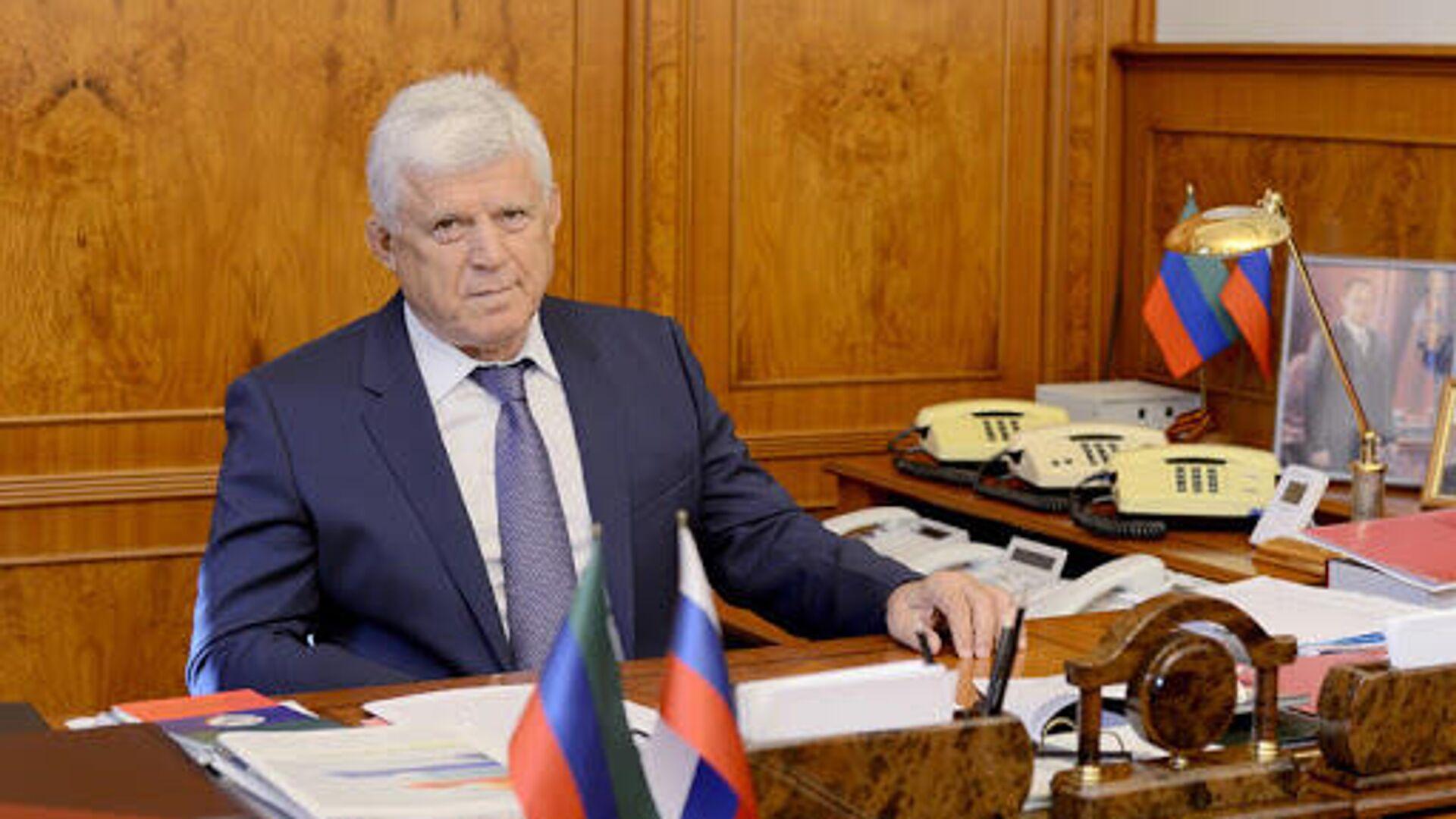 Председатель Народного собрания Дагестана подал в отставку