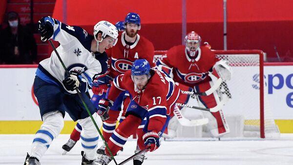 Эпизод матча Монреаль Канадиенс - Виннипег Джетс.