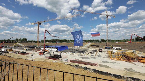 Строительство атомного энергоблока с инновационным реактором на быстрых нейтронах БРЕСТ-ОД-300 в Северске Томской области