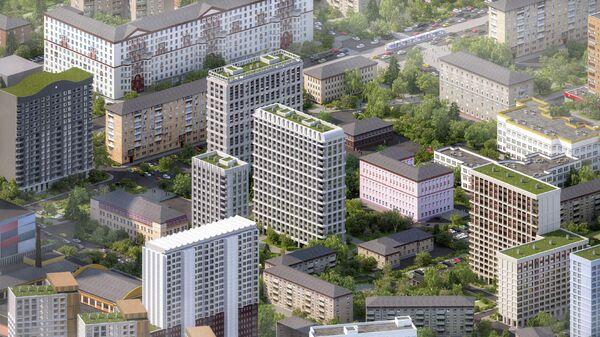 Проект Megabudka для программы реновации в Москве