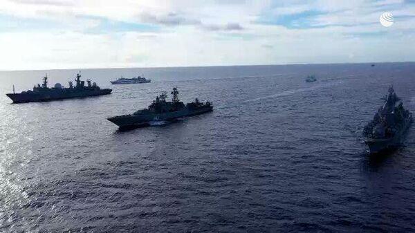 Крупные учения Тихоокеанского флота России