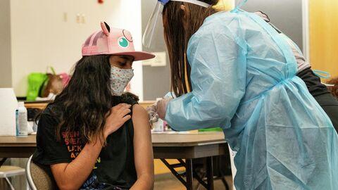 Вакцинация от коронавируса в Калифорнии