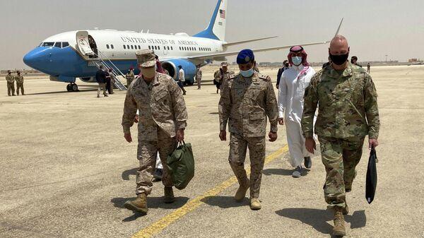 Глава Центрального командования США генерал Фрэнк Маккензи во время визита в Саудовскую Аравию