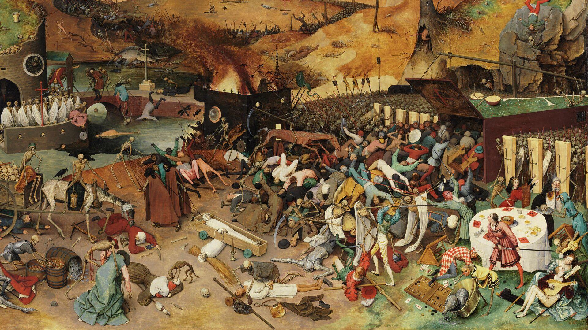 Питер Брейгель Старший, Триумф смерти, 1562 - РИА Новости, 1920, 16.06.2021