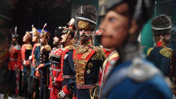 Экспонаты в Музее военной формы в Москве