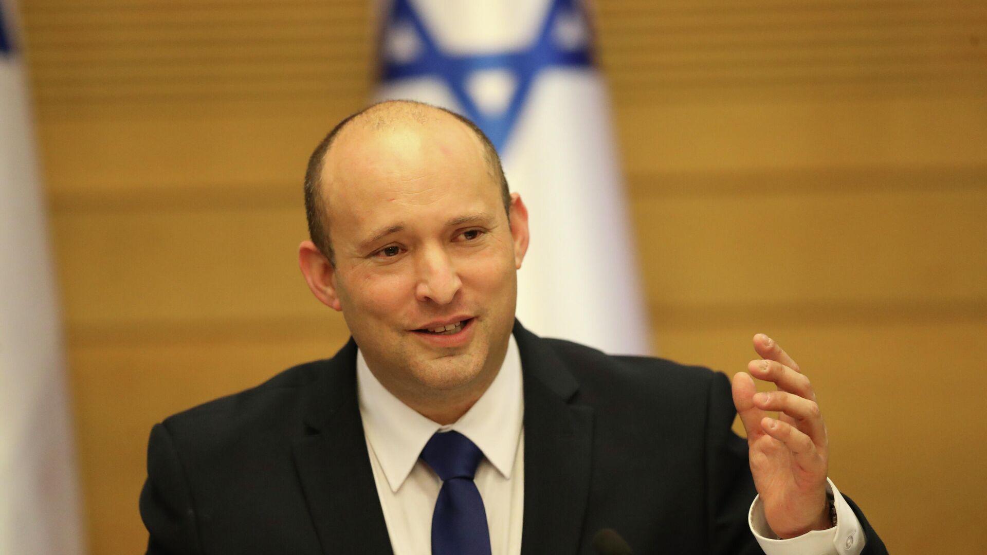 Премьер-министр Израиля Нафтали Беннет - РИА Новости, 1920, 01.08.2021