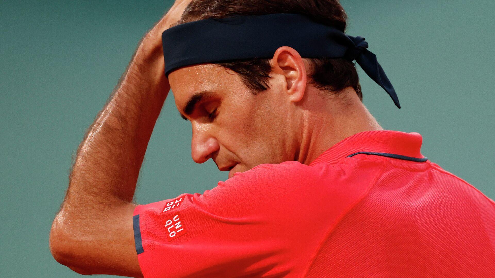 Теннисист Роджер Федерер (Швейцария) - РИА Новости, 1920, 16.06.2021