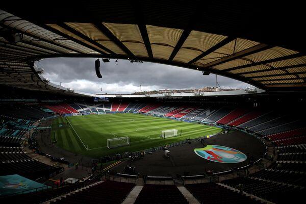 Стадион Хэмден Парк в Глазго