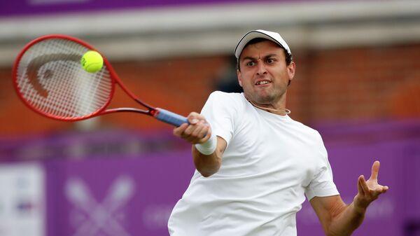 Теннисист Аслан Карацев (Россия)