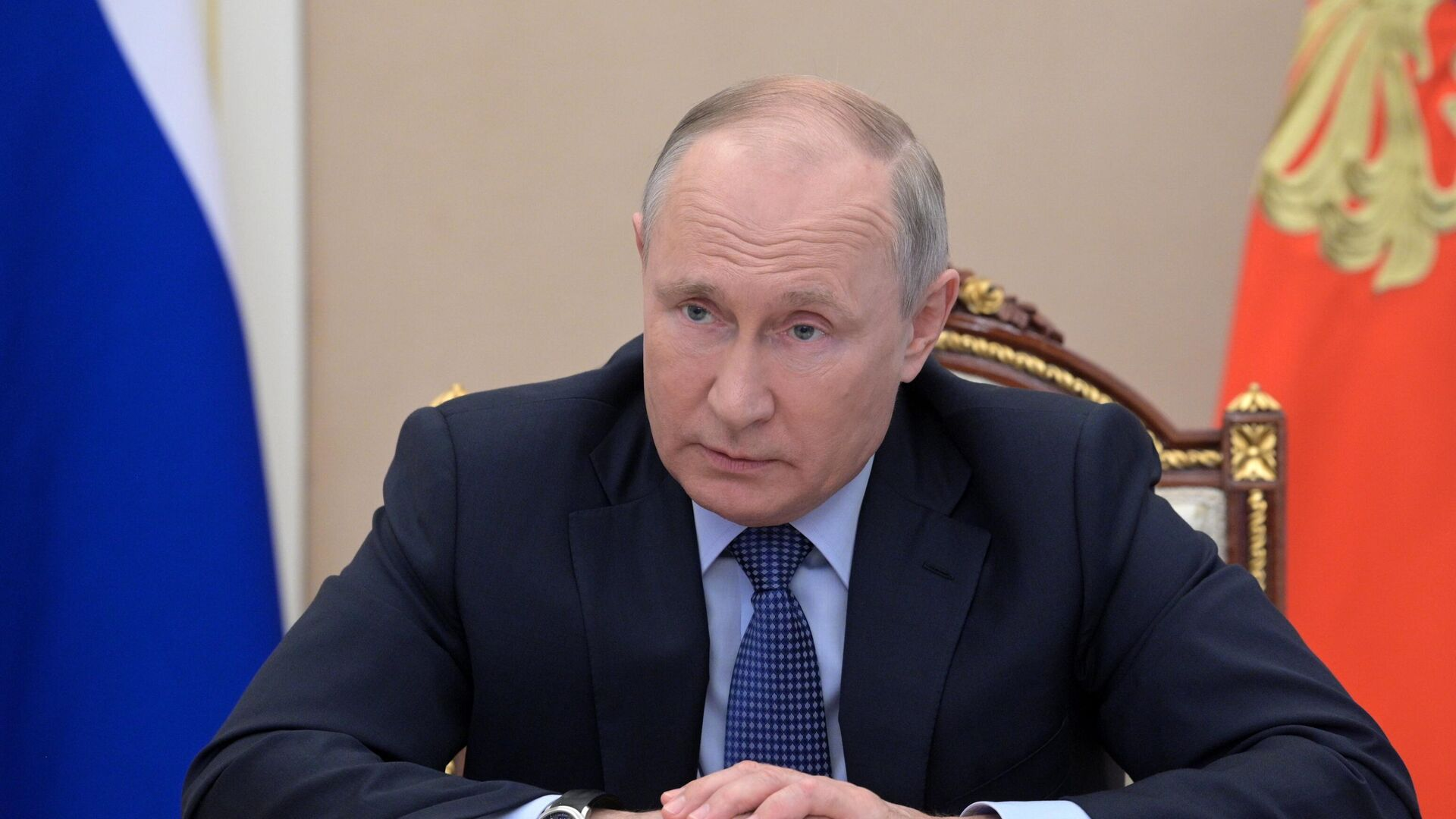 Президент РФ Владимир Путин - РИА Новости, 1920, 22.06.2021