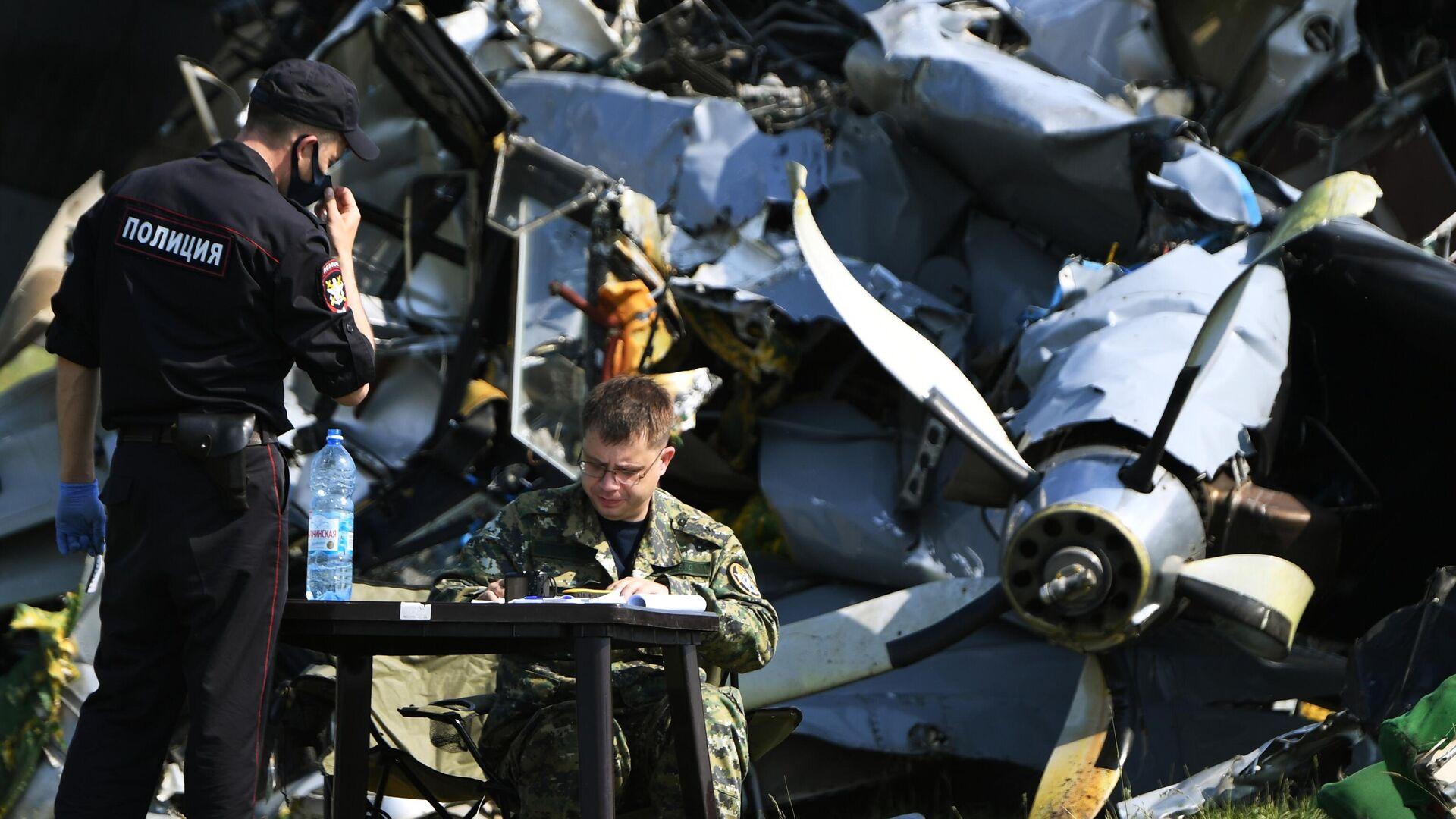Семьям погибших при жесткой посадке самолета под Иркутском окажут помощь