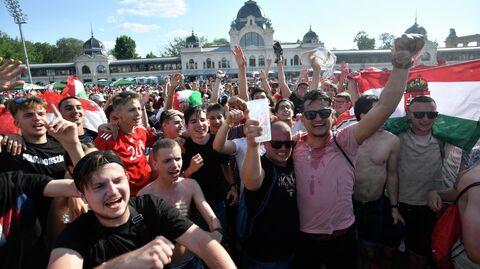 Болельщики сборной Венгрии