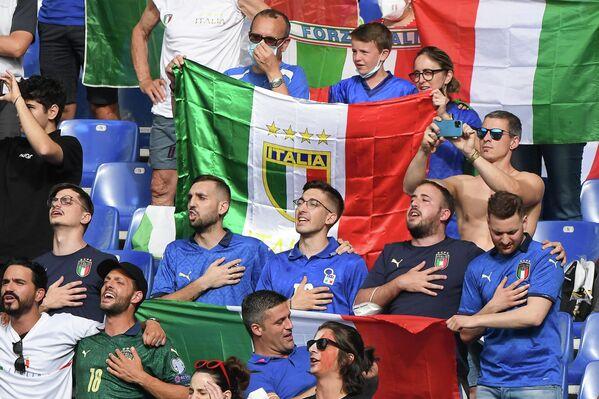 Болельщики сборной Италии