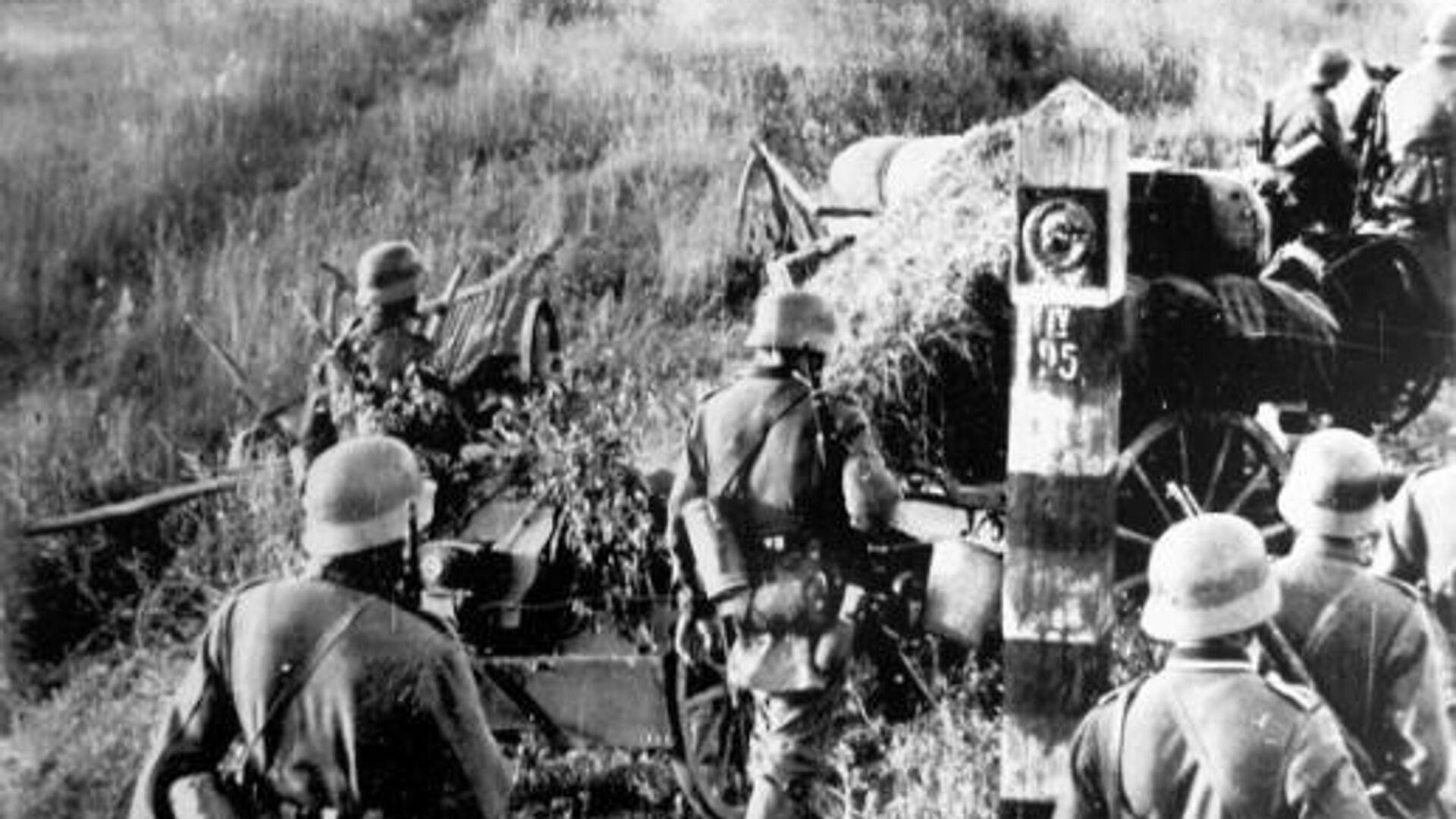 Войска вермахта пересекают границу СССР - РИА Новости, 1920, 21.06.2021