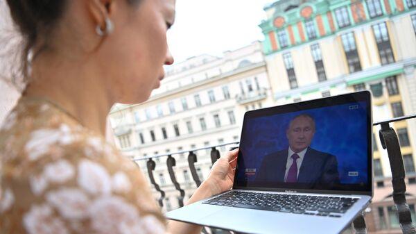 Эксперты оценили вопросы и ответы на прямой линии с президентом