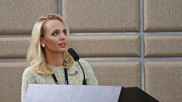 Ведущий научный сотрудник Национального медицинского исследовательского центра эндокринологии Минздрава России Мария Воронцова выступает на IX съезде Российского общества медицинских генетиков