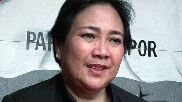 Дочь первого президента Индонезии Рачмавати Сукарнопутри