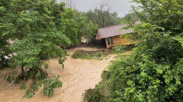 Последствия ливней в Бахчисарайском районе Республики Крым