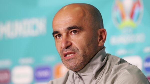 Главный тренер сборной Бельгии по футболу Роберто Мартинес