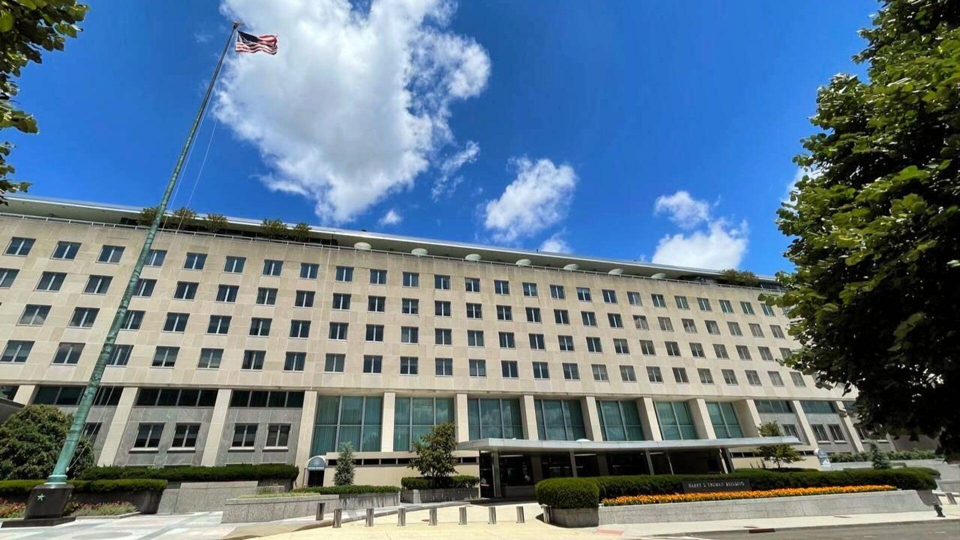 Здание Государственного департамента США в Вашингтоне - РИА Новости, 1920, 21.07.2021