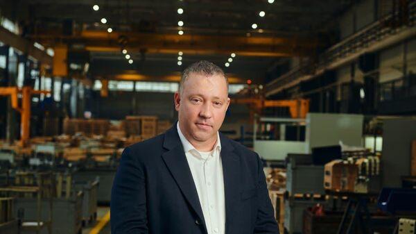 Генеральный директор Щербинского лифтостроительного завода Антон Артемьев