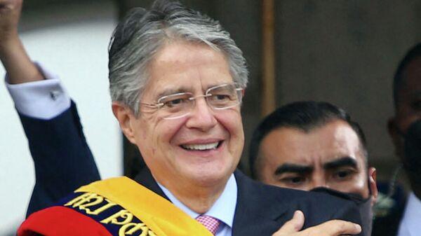 Президент Эквадора Гильермо Лассо
