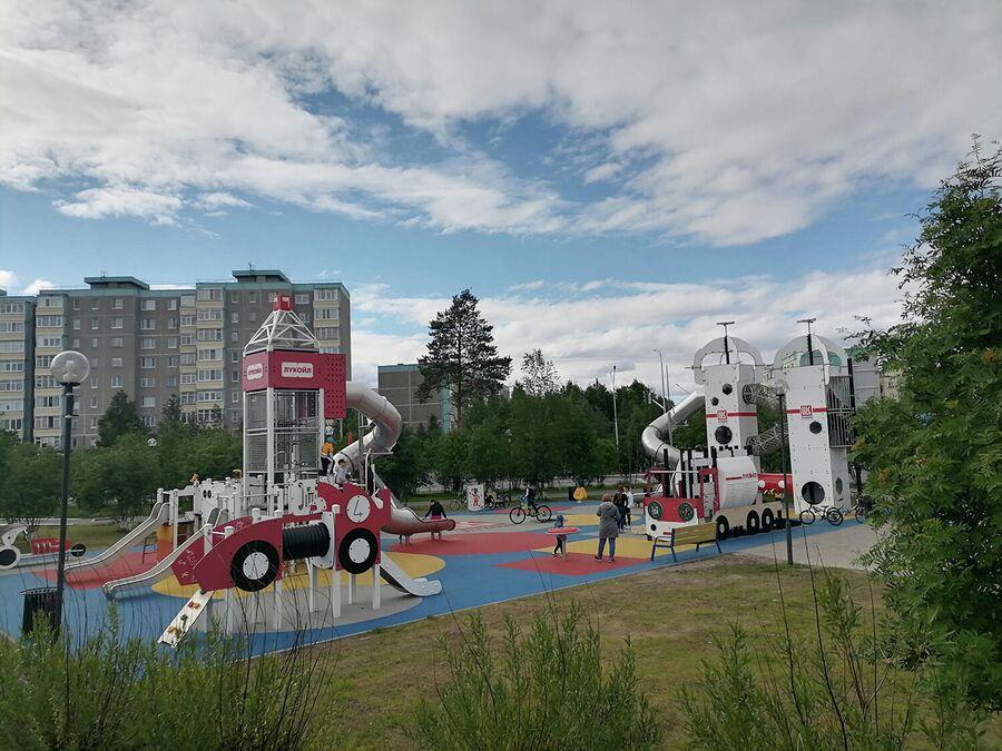Детская площадка в Когалыме