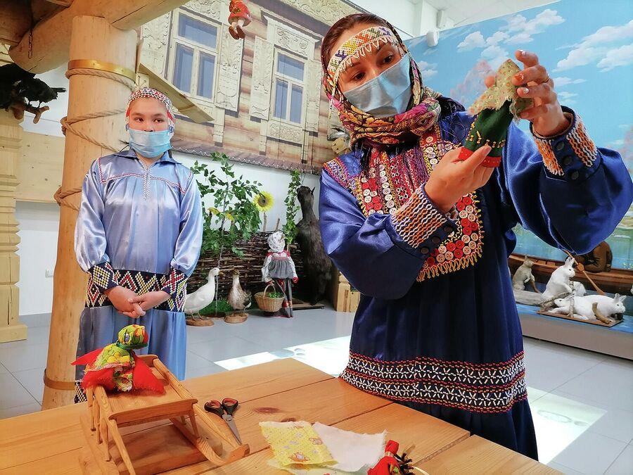 Мастер-класс по изготовлению традиционной куклы Акань