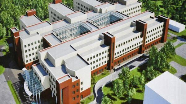 Строительство детской областной клинической больницы в Твери