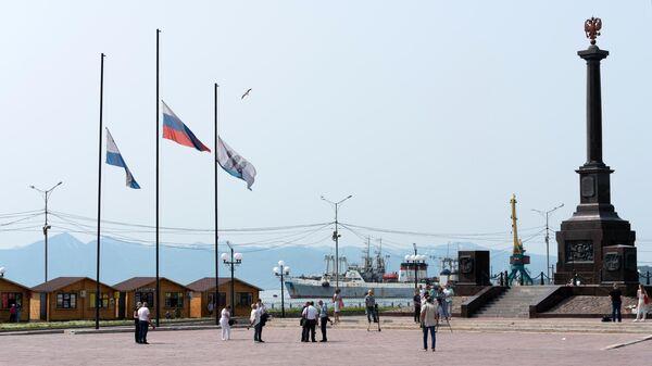 В Палане на Камчатке после крушения Ан-26 ввели режим ЧС