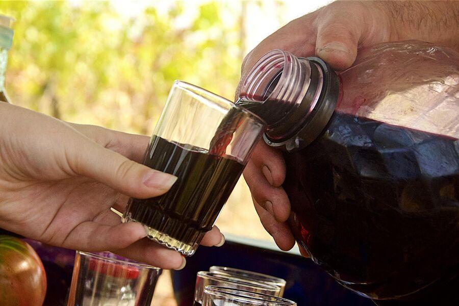 Дегустация вина в Кахетии