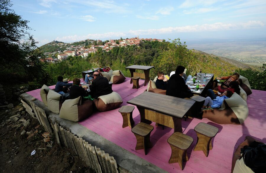 Фестиваль вина в Кахетии